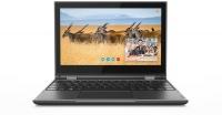 "Lenovo 300e N4100 4GB RAM 64GB eMMC WiFi BT Win 10 Home 11.6"" Hybrid Notebook - Grey Photo"