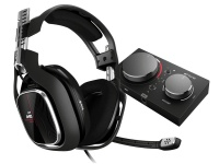 ASTRO Gaming ASTRO - A40 4th Generation Gaming Headset Inc MixAmp Pro TR - Black/Red Photo