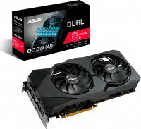 ASUS Dual Radeon RX 5700 XT EVO OC 8GB GDDR6 Graphics Care Photo