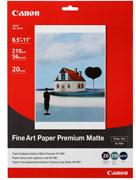 Canon - Fine Art Premium Matte - FA-PM1 A4 Photo