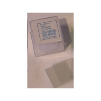 Konus 100 Square Microscope Glass Slide Covers Photo