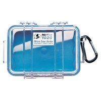 Pelican 1020 CASE WITH LINER BLUE CLEAR Photo