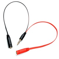 Astrum Aux Split Cable Male to 2 x Female - AS003 Photo