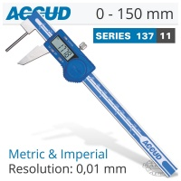 ACCUD Digital Tube Thickness Caliper 0-150mm Photo