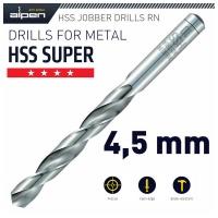 ALPEN HSS Super Drill Bit 4.5mm 1/Pack Photo