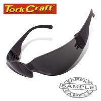 Tork Craft Safety Eyewear Glasses Grey In Poly Bag Photo