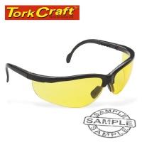 Tork Craft Safety Eyewear Glasses Yellow Photo
