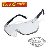 Tork Craft Safety Eyewear Glasses Silver Photo
