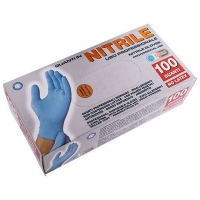 PG PROFESSIONAL Nitrile Gloves Large X100 Pairs Photo