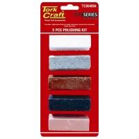 Tork Craft Polishing Compound Kit 5 piecese Photo