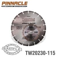 PINNACLE Diamond Blade 230mmx22.22mm 115mmx22.2mm Segemented Photo