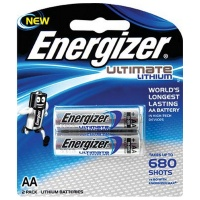 Energizer Ultimate Lithium: Aa - 2 Pack Photo