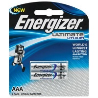 Energizer Ultimate Lithium: Aaa - 2 Pack Photo