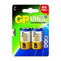 GP Batteries GP C Size Ultra Plus Alkaline 2 Pack Photo