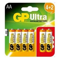 GP Batteries GP Ultra AA Alkaline 6 Pack Promo Photo