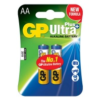 GP Batteries GP AA Size Ultra Plus Alkaline 2 Pack Photo
