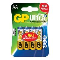 GP Batteries GP AA Size Ultra Plus Alkaline 4 Pack Batteries Photo