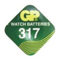 GP Batteries GP 317 Button Cell Silver Oxide Photo