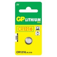 GP Batteries GP CR1216 Lithium Battery Card 1 Battery Photo