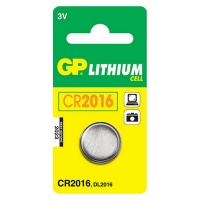 GP Batteries GP CR2016 Lithium Battery Card 1 Photo