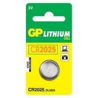 GP Batteries GP CR2025 Lithium Battery Card 1 Photo