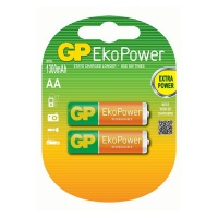 GP Batteries GP EKO Power Rechargeable 1050MAH 1.2V 2 Pack Batteries Photo
