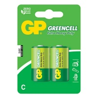 GP Batteries GP C Size Greencell Pack 2 Photo