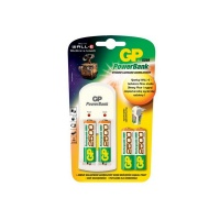 GP Batteries GP Charger With 4X 2500 & 2X Free AAA Batteries Photo