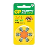 GP Batteries GP ZA13 Zinc Air Hearing Aid Battery 6 Pack Photo