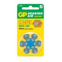 GP Batteries GP ZA675 Zinc Air Hearing Aid Battery 6 Pack Photo