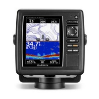 GARMIN GPSMap 527xs w/ xdcr with Dual Frequency transducer Photo