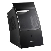 Lian Li PC-Q30X Mini-ITX chassis Curve Design with Front Window Black Photo