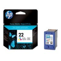 HP # 22 Tri-Colour Inkjet Print Cartridge Photo
