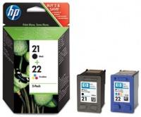 HP # 21 / 22 Combo-Pack Inkjet Print Cartridges Photo