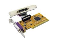 Sunix 2-port IEEE1284 Parallel PCI Low Profile Board Photo