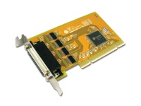 Sunix 4-port RS-232 High Speed Low Profile Universal PCI Serial Board Photo