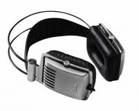 Krator Dione Precision Hi-Fi Headphones - Brushed Silver Photo