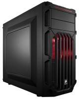 Corsair Carbide SPEC-03 Black ATX Chassis - With Red LED PC case Photo