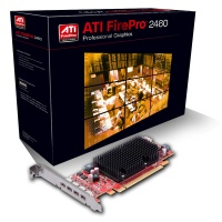 Sapphire ATI FirePro 2460 piecesI-E X16 512MB DDR3 Graphics Card Photo