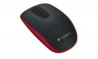 Logitech T400 Red cordless optical - zone touch mouse Photo
