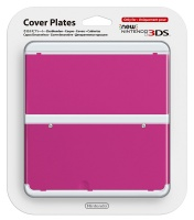 Nintendo new 3DS Cover Plates 19 - Pink Photo