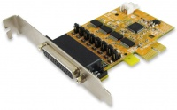 Sunix 4-port RS-232 High Speed PCI Express Board with Power Output Photo