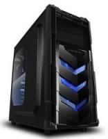 RaidMax VORTEX 402 V4 Black & Blue Gaming Chassis Photo