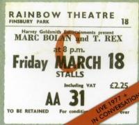 Marc Bolan / T-Rex - Live 1977 / In Conversation Photo