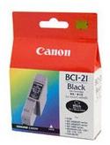 Canon BCi-21BK Black Ink Cartridge Photo