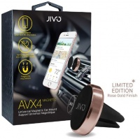 Jivo AVX4 Magnet Universal Air Vent Car Mount - Rose Gold Limited Edition Photo