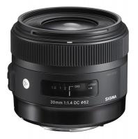Sigma Lens 30/1.4 DC HSM Nikon - Art Photo