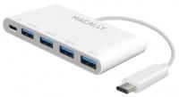 Macally - USB-C to 4 Port USB A Hub USB-C Photo