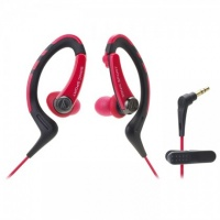 "Audio Technica Sonicsport 1""-Ear Headphones - Red Photo"
