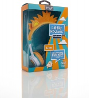 ifrogz Little Rockerz Costume On-Ear Headphones - Orange Lion Photo
